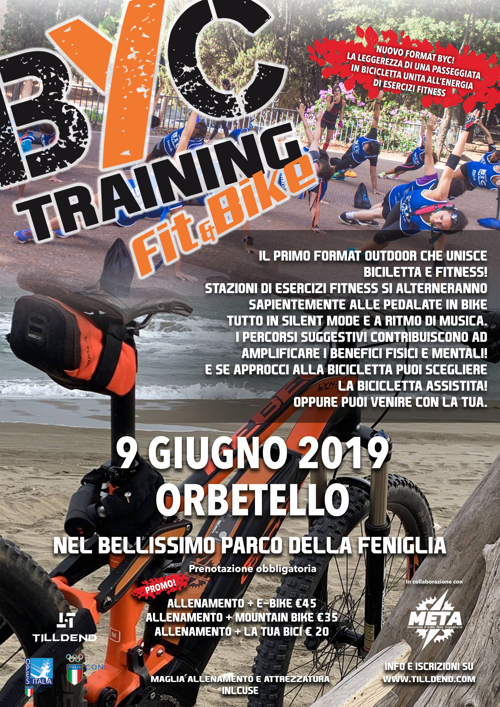 BYC Training FIT and BIKE Orbetello 9 giugno