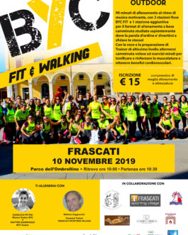 1110 BYC FIT&WALKING – FRASCATI