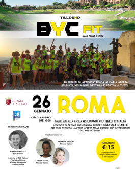2601 BYC FIT&Walking – Roma
