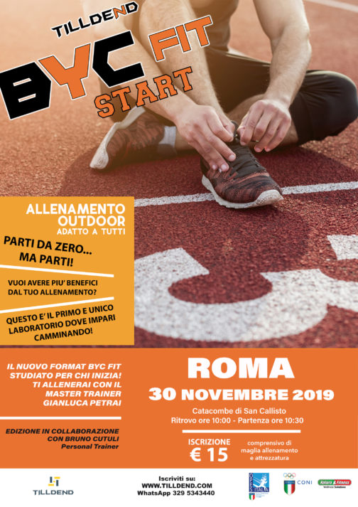 BYC FIT Start Roma fitness alimentazione nutrizione outdoor