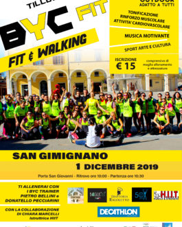 1201 BYC FIT and Walking – San Gimignano