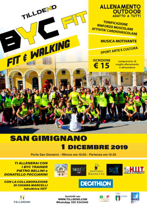 BYC FIT San Gimignano fitness outdoor