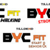 Tilldend BYC FIT and WALKING e BYC FIT STRONG and RUN, YC FIT START AND SENIOR