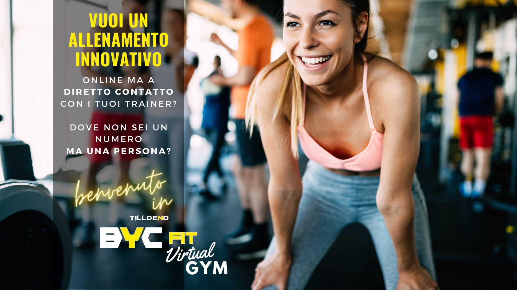 TILLDEND BYC FIT VIRTUAL GYM palestra virtuale